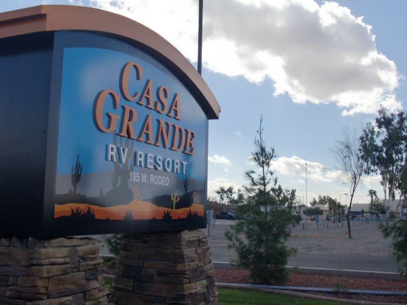 Arizona Rv Resort Casa Grande Rv Resort Amp Cottages